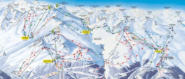 Skigebied Solden - ideaal voor wintersport
